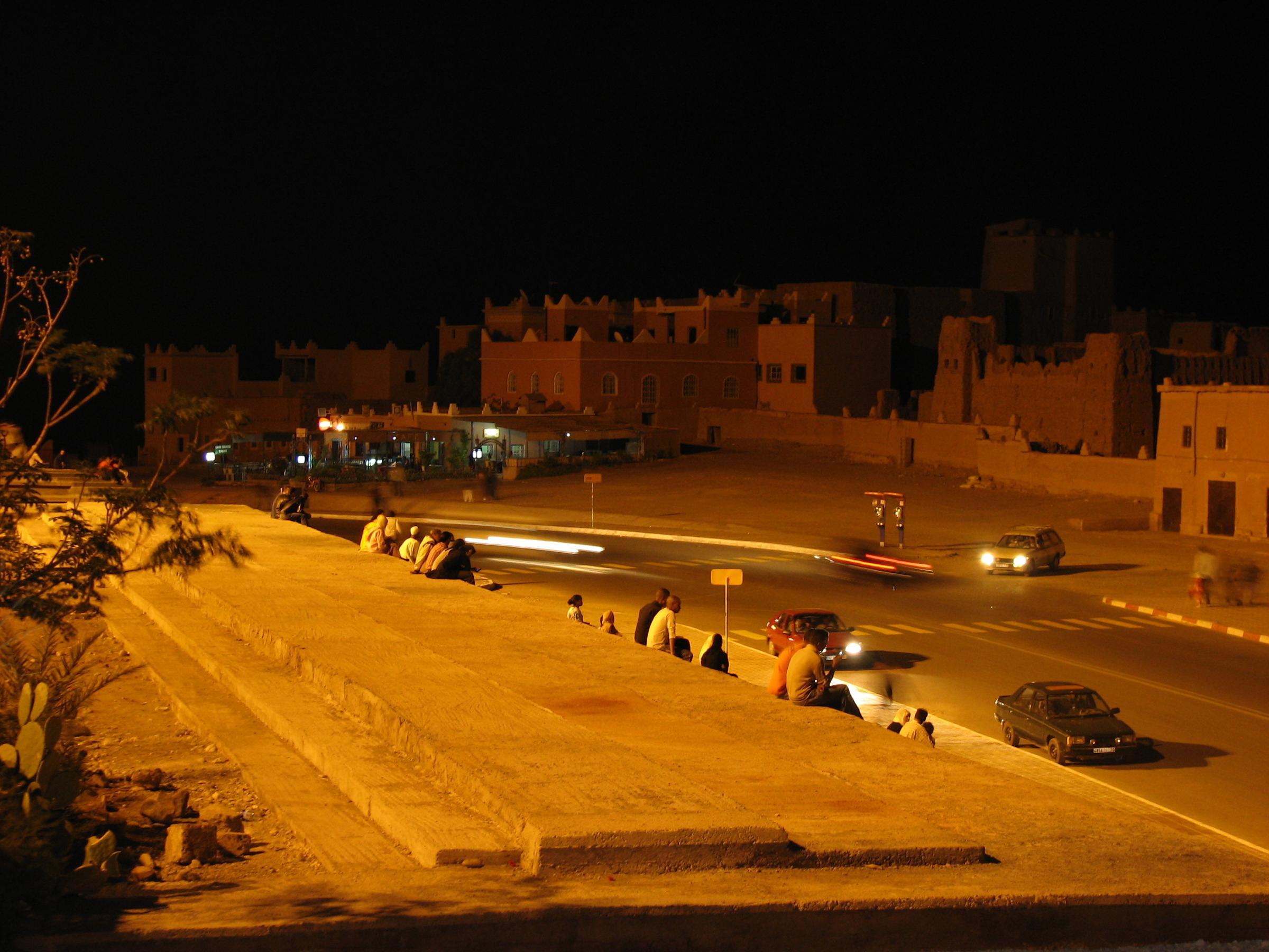 Piata centrala Ouarzazate